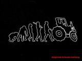 T-Shirt-Druck eines Schlepperfahrers